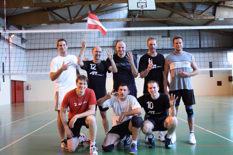 Sieger Atomiade 2012 - Volleyball